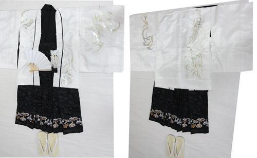 【新着】5歳用 羽織袴セット