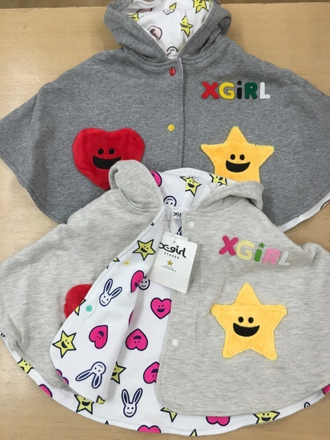 Xーgirl STAGESのベビーケープ入荷