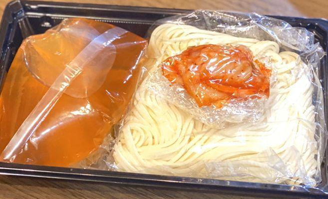 (テイクアウト)焼肉屋の盛岡冷麺(生)380円(税込)美味しい冷麺の作り方レシピ付き♪