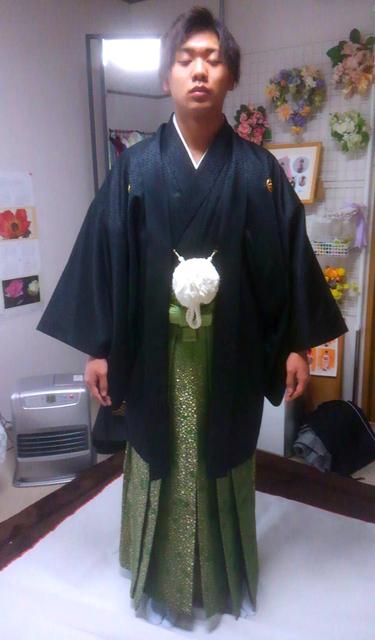 紋付羽織袴3